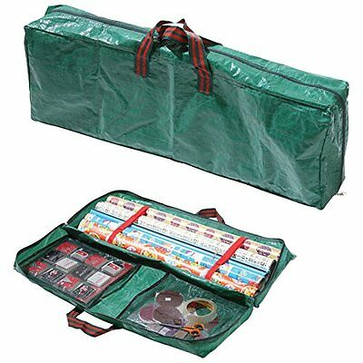 WowDiscounts Handy Wrapping Paper Storage Bag, Storage For Christmas & Gift Wrap