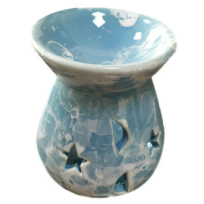 B687 Ceramic Fragrance Oil Burners Lavender Aromatherapy Scent Candle Essential