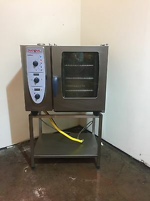 Rational CM61G CombiMaster Oven with Stand and Brita Filter
