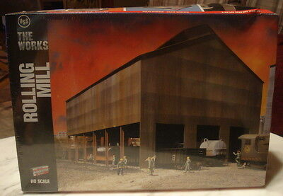 Rolling Mill HO Scale Structure Kit/# 933-3052-Walthers Cornerstone Series