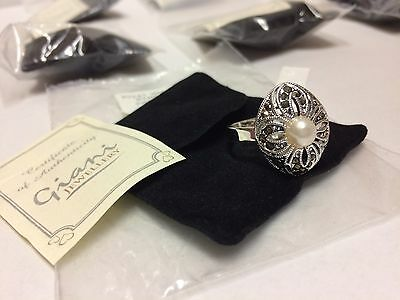 Job Lot Wholesale 40 MARCASITE RINGS NEW clearance stock total RRP £519.60
