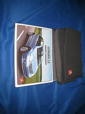 Citroen C3 Owners Handbook Manual and Pack 02-06