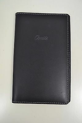 Vintage Coutts English Made Bifold Black Leather Wallet New