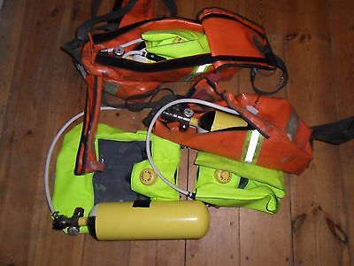 3 x FENZY BIO-S-CAPE respiratory emergency escape breathing apparatus