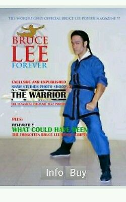 bruce lee forever poster magazine.2016 xmas edition.
