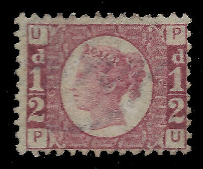 1870 ½d Bantam, S.G.48/49 rose plate 6, very fine unmounted mint condition
