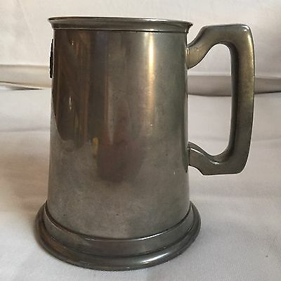 Pewter tankard bright made in Sheffield