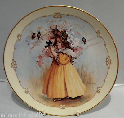 The Charm Of Victorian Children - Collectors Plate  - The Little Captive