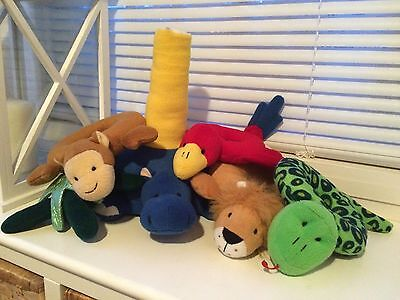 Egmont Toys - Animal Jungle Tower - Soft Play Toy - Baby / Infant / Teddy