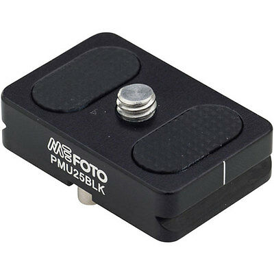 MeFOTO Camera Quick Release Plate for BackPacker Air Tripods, Black