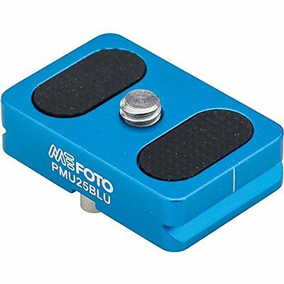 MeFOTO Camera Quick Release Plate for BackPacker Air Tripods  Blue