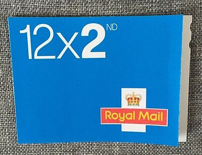 Book Of 12 Second Class Stamps Royal Mail