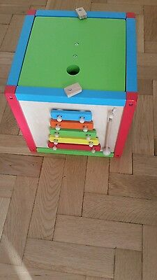early learning box toy nursery game educational children wooden