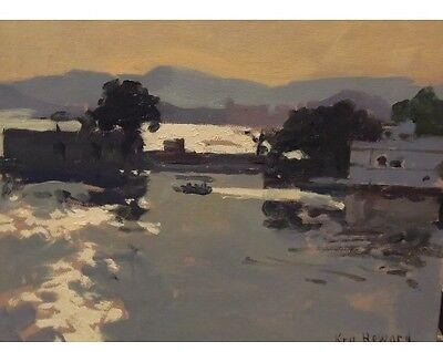 Ken Howard OBE RA Original Oil Painting