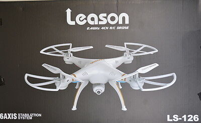 Leason 2.4Ghz 6 Axis Quadcopter Drone RC Helicopter UK