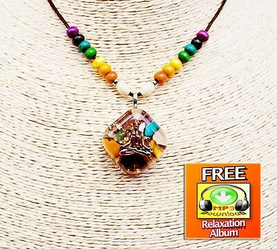 Orgonite Pendant Orgone Pendant For Balancing All Chakras And EMF Protection