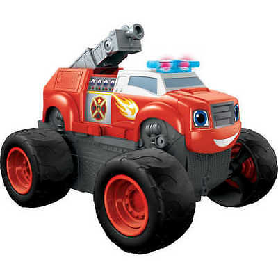 Fisher-Price Nickelodeon Blaze and the Monster Machines Transforming Fire Tru...