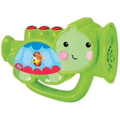NEW Fisher-Price My First Real Trumpet Music Set