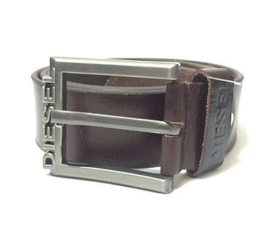 Mens  Brown  Diesel Leather Belt Suitable For 34 To 36 (3401)with Box