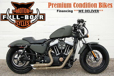 HARLEY DAVIDSON XL1200X FORTY EIGHT  2015 Black XL1200X FORTY EIGHT!