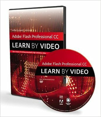 Adobe Flash Professional CC: Learn by Video (DVD-ROM)