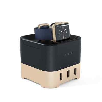 Satechi Station de charge Intelligente pour Apple Watch 1&2, Fitbit Blaze et Sma