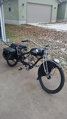 1948 Indian Chief  indian chief motorcycle motorized bicycle moped scooter replica