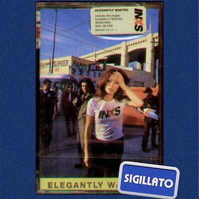 "Inxs "" Elegantly Wasted "" Musicassetta Sigillata Mc (K7)"