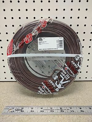 Coleman Cable 553055407 Thermostat Wire, CL2 Solid Bare Copper, 18/5, 250-Foot