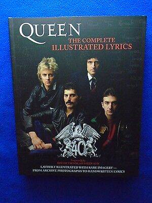 ~~ Queen  The Complete Illustrated Lyrics ~ 390 Page Awesome Book! ~~