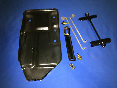 70 71 Charger RoadRunner GTX Challenger Cuda Complete Battery Tray KIT NEW
