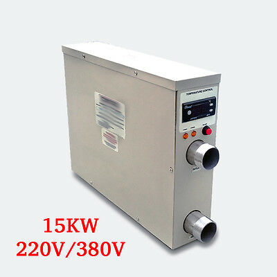 IN945 Electric Water Heater Best Thermostat For Swimming Pool/SPA 15KW 220V/380V