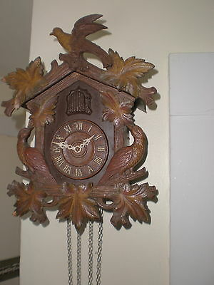 Old-Large-Lux- Cuckoo Clock-To Restore-#N285