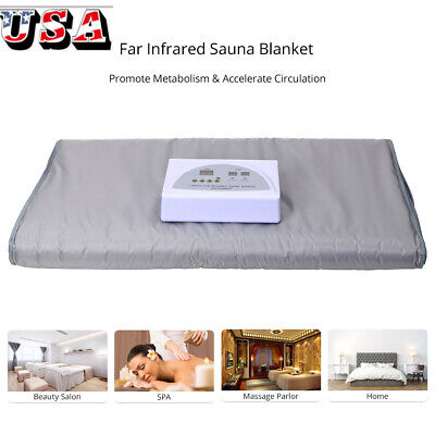 Sauna Blanket Detox Far Infrared Body Slimming Lymph Drainage Anti Aging Machine
