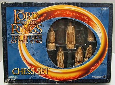 Lord Of The Rings The Return Of The King Chess Set ***new In Box***