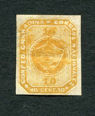 COLOMBIA SCOTT #11 10c  ISSUE OF 1860