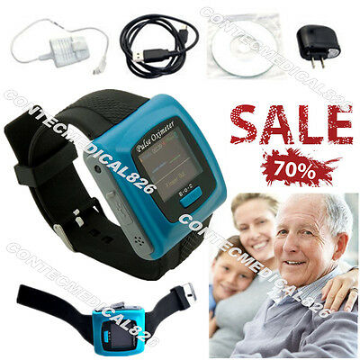 FDA Wrist Pulse oximeter Spo2 Monitor Blood Oxygen rate Daily-night analysis, CE