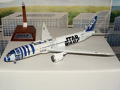 JC Wings 200 ANA Starwars B787 -9 With Stand 1/200 **Free S&H** 1216