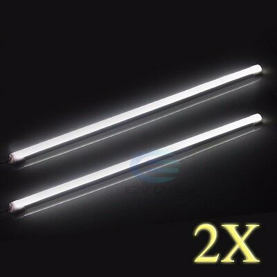 2X 50cm 5630 Cool White Led Strp lights Bars Camping Fishing Boat Tent Caravan