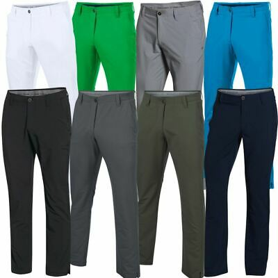 **new 2017** Under Armour Match Play Pants Mens Golf Trousers - Tapered Leg