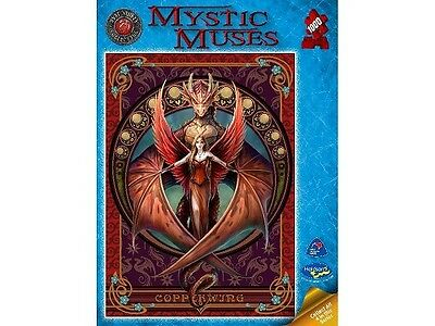 Holdson 1,000 Piece Jigsaw Puzzle - Anne Stokes: Mystic Muses: Copper Wing