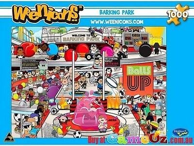 Holdson 1,000 Piece Jigsaw Puzzle - Weenicons: Barking Park