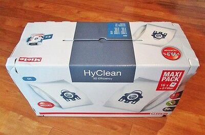 Miele GN HyClean vacuum bags set New