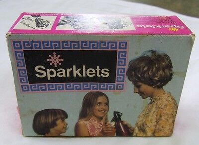 Sparklets Soda Syphon Bulbs - Vintage - Boxed - 9 bulbs