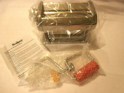 Sculpey Clay Conditioning Machine - Polymer Oven Bake Clay Press - 9 thicknesses