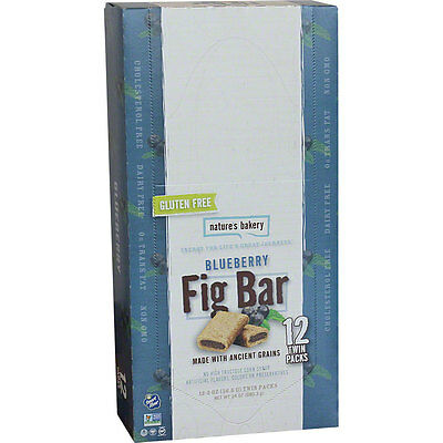 Nature's Bakery Gluten Free Fig Bar: Blueberry Box of 12