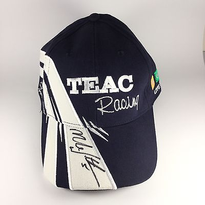 Brand New Mark Winterbottom SIGNED Teac Racing FPR Cap