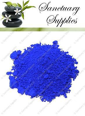 Ultramarine Blue Cosmetic Grade Mineral Powder Pigment DIY Soapmaking Makeup