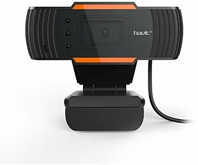 HAVIT PC Webcam Computer Mini Camera with Microphone for Laptops and Desktop,