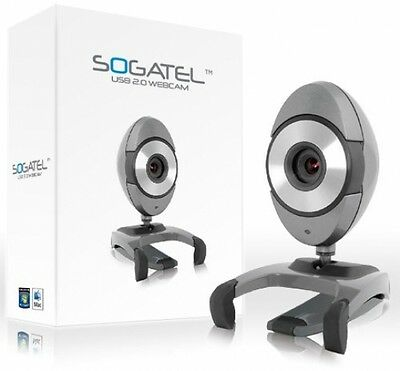Sogatel Opal Skype Webcam with Mic - Windows 10/8/7/Vista/XP and Mac (Mic not